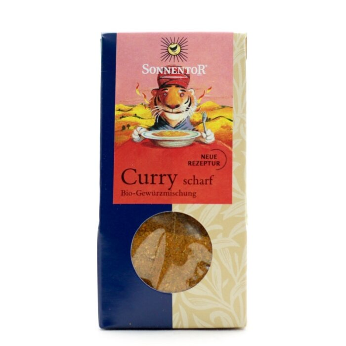 Curry scharf Bio 35g